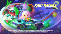 Nickelodeon Kart Racers 2 title screen