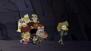S5E18 Once again, the Louds are traversing the cave