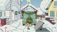 S2E01 Lana's reindeer catapult works