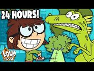 24 HOURS With Lisa Loud! (Day In The Life) ⏰ - The Loud House