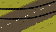 S03E01 Tire marks