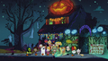 S2E24 Trick-or-treaters at the Loud House