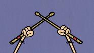 S1E08B Luna drumsticks