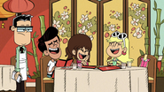 S4E10B Leni and her friends laugh at the end