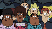 S5E12B Clyde's great-aunts in the audience