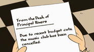 S4E16A The Music Club has been cancelled