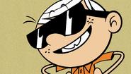 S2E03A Lincoln with his sunglasses