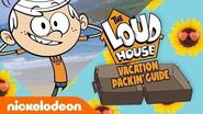 The Loud House Vacation 🌴 Packing Guide 💼 Nick