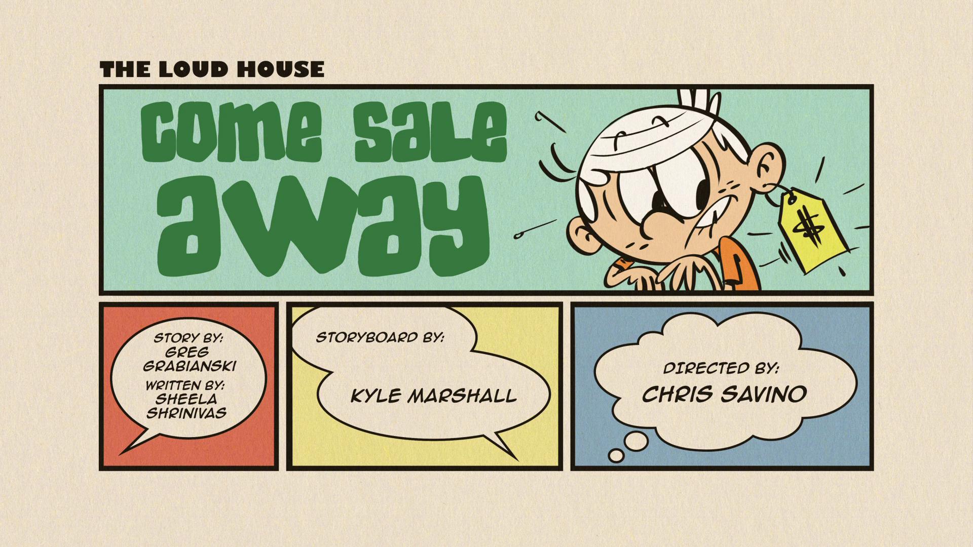 Come Sale Away