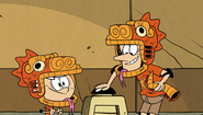 S2E22A Orange Iguanas press the button
