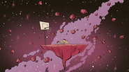 S4E24A A basketball court in the sky
