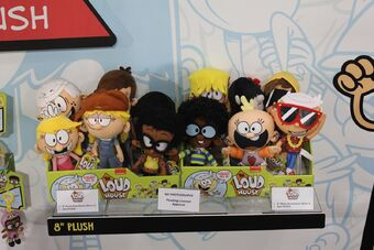 The Loud House Action Figures Lincoln Clyde Lori Lily Leni Luna The Lucy Lisa