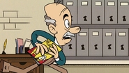 S2E11A Huggins getting away with his comic