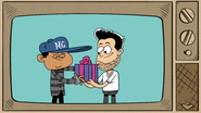 S4E03A Gives a gift to a friend