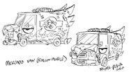 CS2E08B Mercado Van (Falcon Mobile) drawing