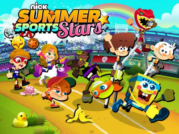 Nick Summer Sports Stars