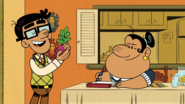 S4E05B Carlos practices his speech with a turnip