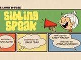 Sibling Speak