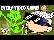 Every VIDEO GAME From The Loud House 🎮! - The Loud House