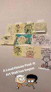 Art wall sketches