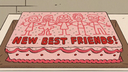 S3E19A Best Friend cake