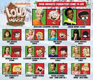 A Loud House Christmas - Meet the Cast