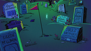 S5E05 Staff Names in the tombstones