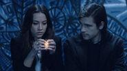 Julia shows Quentin her magic