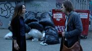 Julia and Quentin argue over magic