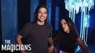 THE MAGICIANS Season 3, Episode 1 Making Magic' SYFY