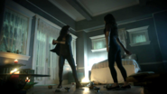 Kady and Julia summon a demon