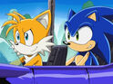 Sonic and tails in sonic x