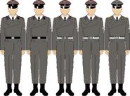 Waffen ss panzerartillerie troops dress uniforms by thefalconette-d5c4zxq