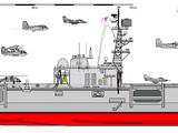 Australia class (BSAC 220) aircraft carrier