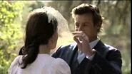 The Mentalist 7x13 Jane and Lisbon Wedding Scene
