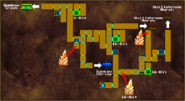 Howling Grotto Map