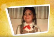 Cynthia as a Brownie scout