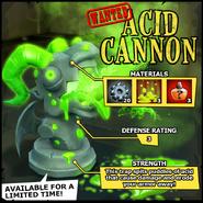 Wanted Acid Cannon EN