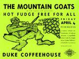 1997-04-04 - Duke Coffeehouse - Durham, NC
