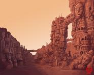 Martian Otsutsuki Colony