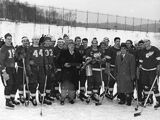 1954 Detroit Red Wings prison game
