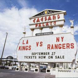 1991 outdoor NHL game in Las Vegas