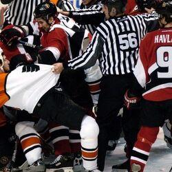 Philadelphia Flyers–Ottawa Senators Brawl