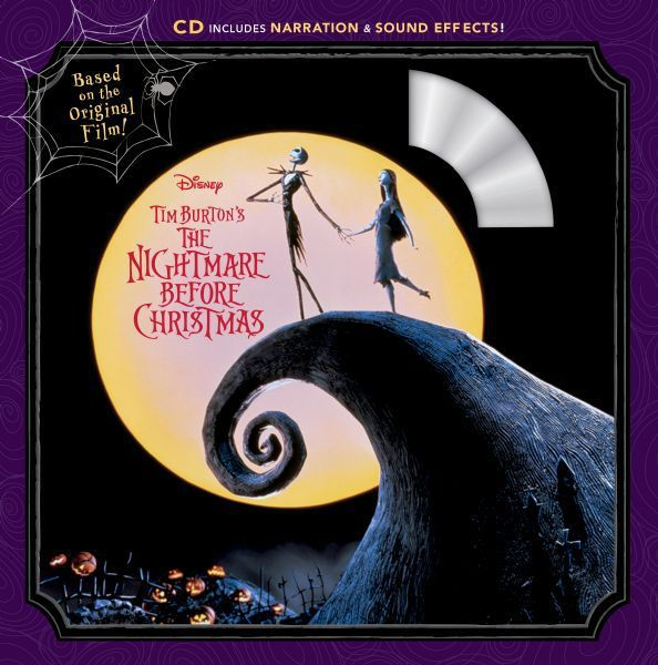 The Nightmare Before Christmas Book & CD