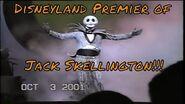 Haunted Mansion Holiday 2001 Event Opening- Premier Jack Skellington Nightmare Christmas Disneyland