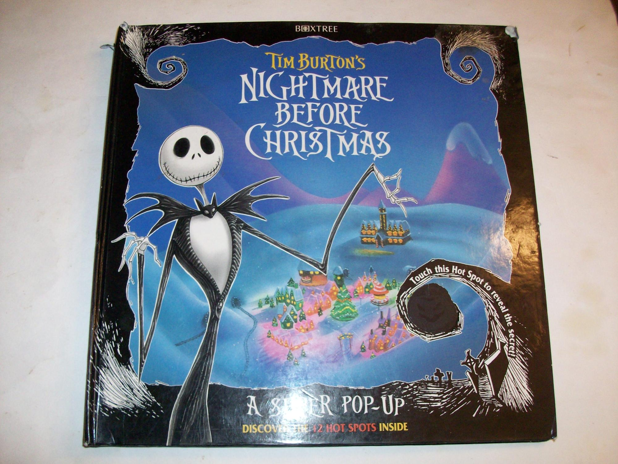 Nightmare Before Christmas Super Pop-Up Book