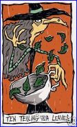 Disney s Nightmare Before Christmas Haunted Mansion Tarot Cards 10 xny