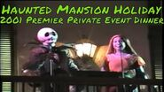 Disneyland EXCLUSIVE EVENT Dinner 2001 Haunted Mansion Holiday in Blue Bayou
