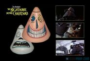 The Nightmare Before Christmas Mayor Stop Motion Face