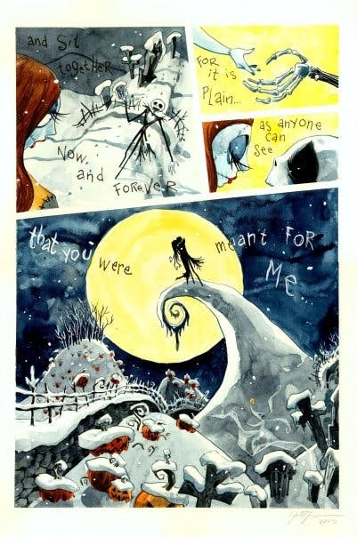 Jill Thompson's Nightmare Before Christmas